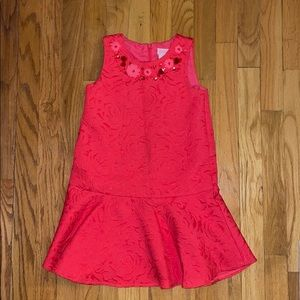 🍍🍍4 for $22 Camilla girls coral dress size 6x